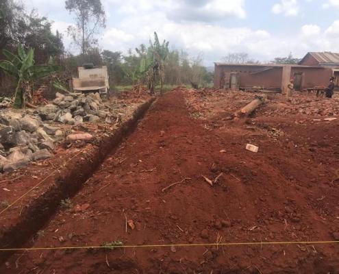 Grundstück für Neubau Operationstrakt Gesundheitszentrum