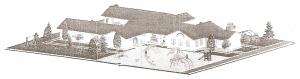 Planungsentwurf Kindertagesstätte in Mavanga